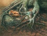 «Le renard & le vieil arbre»